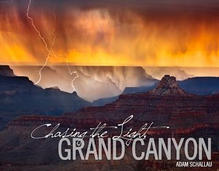Chasing the Light, Grand Canyon, Book, Photography, Photos, Gift, Coffee Table