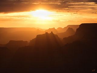 AZ, Angels Gate, Arizona, Grand Canyon, National Park, South Rim, Sunset