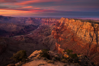 Colorado River, Desert View, Grand Canyon, National Park, Palisades of the Desert, South Rim, Divine Abyss