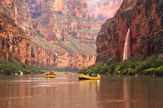 Grand Canyon, Raft, Rafting, Colorado River, Waterfall, Photography, Workshop, Expedition