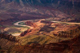Arizona, Colorado River, Grand Canyon, National Park, South Rim, Unkar Delta, Lipan Point