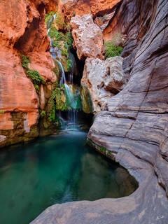 Elves Chasm, Expedition, FujiFilm, GFX, GFX 100, Grand Canyon, National Park, Royal Arch Creek, River Trip, Waterfall