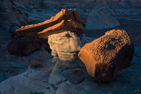 AZ, Arizona, Erosion, Hoodoos, Landscape, Page, Stud Horse Point, Studhorse Point, geology