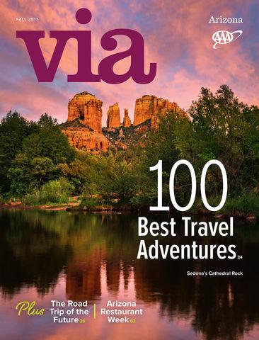AAA, VIA, Magazine, Highroads, Travel, Sedona, Arizona, Red Rock Crossing