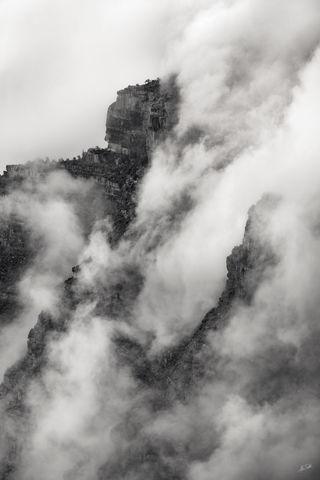 AZ, Arizona, Black & White, Colorado Plateau, Grand Canyon, Grand Canyon National Park, National Park, North Rim, North Rim of the Grand Canyon