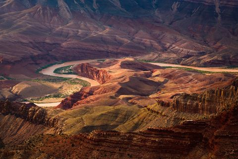 Arizona, Colorado River, Grand Canyon, National Park, South Rim, Unkar Delta, Lipan Point