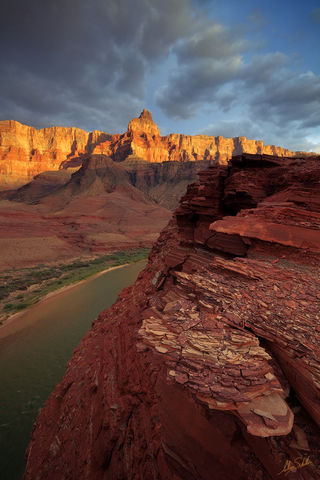 Arizona, Below the Rim, Colorado River, Comanche Point, Expedition, Grand Canyon, National Park, Palisades of the Desert, River Trip, Sunset, Sunset at the Grand Canyon