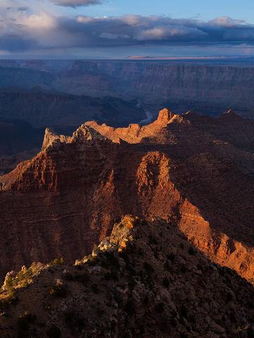 AZ, Arizona, Cardenas Butte, Escalante Butte, Colorado River, Grand Canyon, Lipan Point, National Park, South Rim
