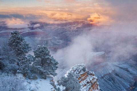 Glimmering Winter Temple