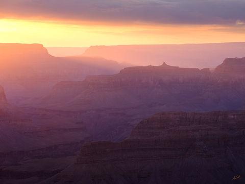 AZ, Arizona, Fuji, Fujifilm, GFX 50R, Grand Canyon, Hopi Point, National Park, South Rim, Sunset