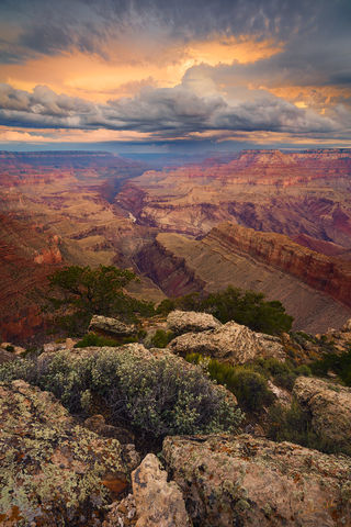Arizona, AZ, Colorado River, Grand Canyon, Lipan Point, National Park, South Rim, Sunrise