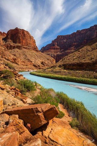 Little Colorado River, LCR, Turquoise, Navajo, Hopi, Confluence, Sacred, Dine, Tribal, Grand Canyon, National Park, Arizona