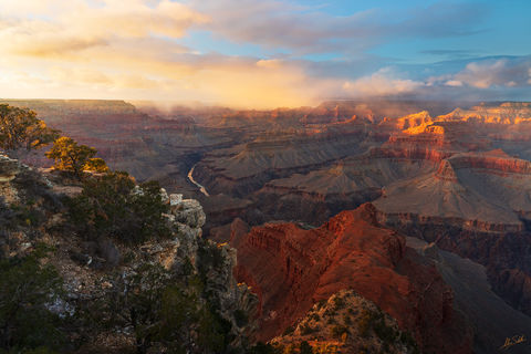 Arizona, Colorado River, Colorado River, Grand Canyon, Mojave Point, National Park, South Rim