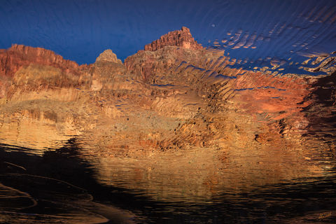 Arizona, Below the Rim, Colorado River, Enfilade Point, Expedition, Forster Rapid, Grand Canyon, Grand Canyon National Park, Moon, Moonset, National Park, River Trip