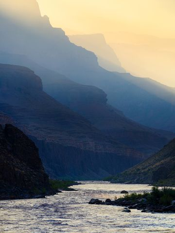 AZ, Arizona, Below the Rim, Colorado River, Expedition, Fire, FujiFilm, GFX, GFX 100, Grand Canyon, National Park, Owl Eyes Camp, Powell Plateau, River Trip, Smoke, forest fire, wildfire