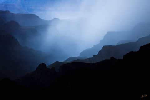 Arizona, Blue, Bright Angel Canyon, Bright Angel Point, Grand Canyon, Monsoon, National Park, North Rim, Rain, Storm, Summer