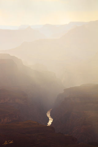 Arizona, Grand Canyon, Monsoon, National Park, Zuni Point, Sunset, South Rim, Rain, Colorado River