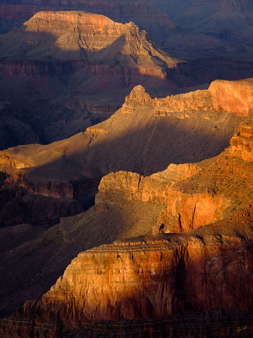 AZ, Arizona, Colorado Plateau, Fuji, FujiFilm, GFX 50R, Grand Canyon, Hermit Road, National Park, Pima Point, South Rim