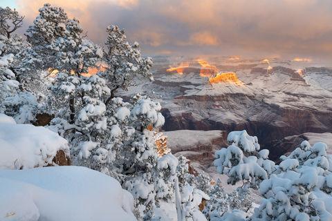 Winter Light at Grand Canyon