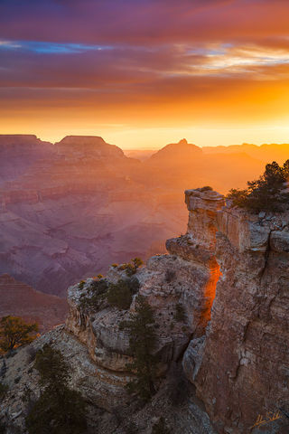 Artist-in-Residence, Canyon, Grand Canyon, National Park, South Rim, Sunrise, Revelation, Yaki Point