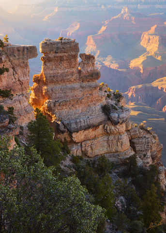 Arizona, Grand Canyon, National Park, South Rim, Yaki Point
