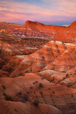 Badlands, Banded Hills, Chinle Formation, Colorado Plateau, Erosion, National Monument, Paria, Paria Badlands, Paria Townsite, UT, Utah, geology, grand staircase, grand staircase-escalante