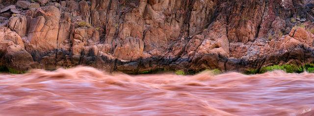 Pink Granite Rush Panoramic