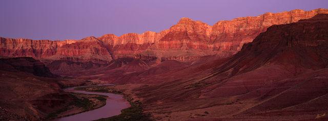 Twilight on the Palisades Panoramic