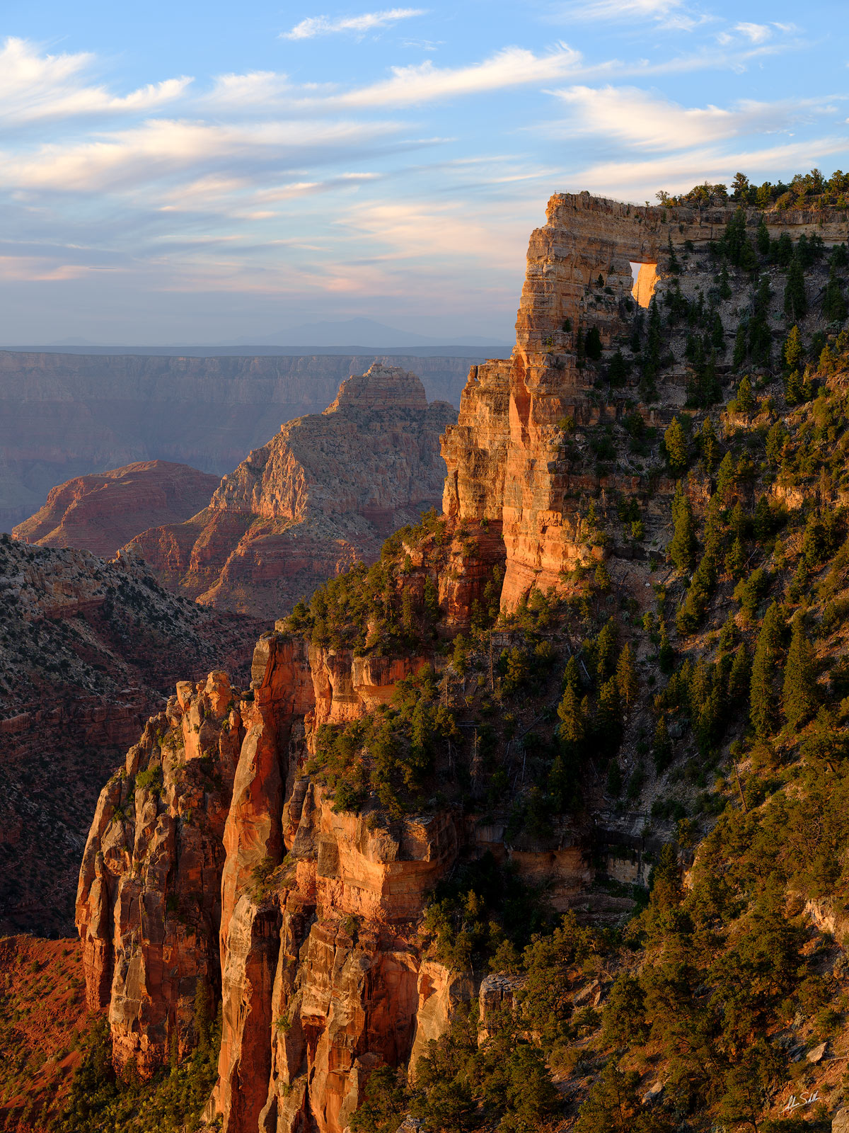 AZ, Angels Window, Arizona, Fuji, Fujifilm, GFX 50R, Grand Canyon, National Park, North Rim, Sunrise, photo