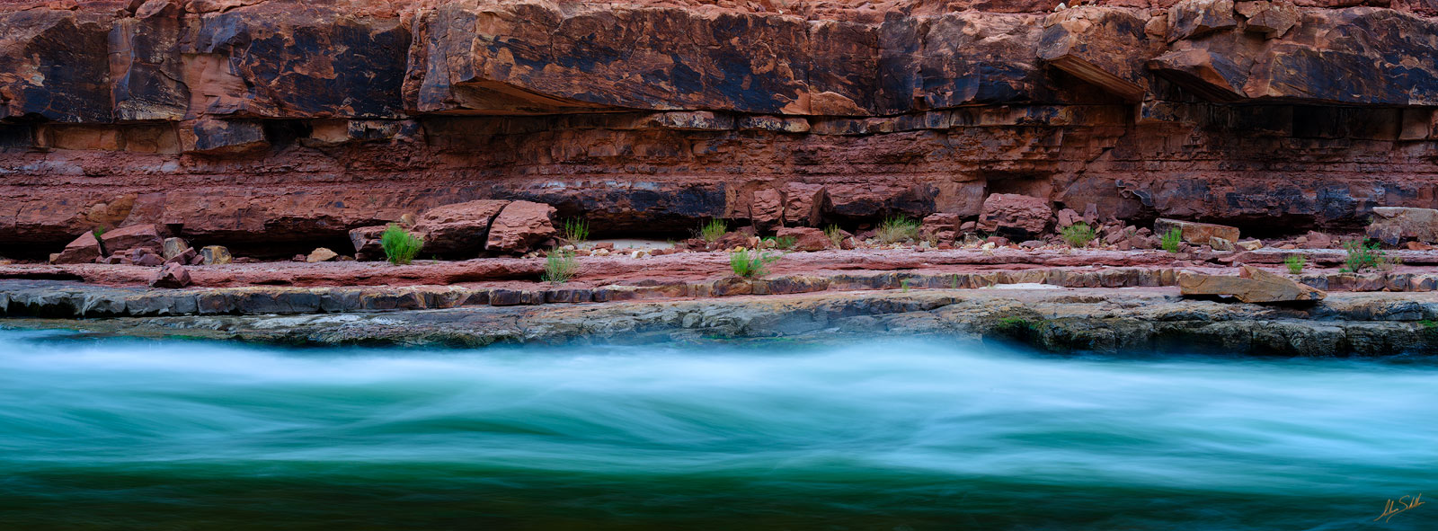 The Colorado River at North Canyon in Grand Canyon National Park. © Adam Schallau, All Rights Reserved.