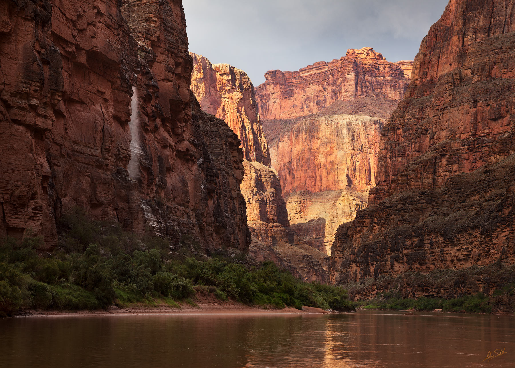 Arizona, Below the Rim, Colorado River, Expedition, Grand Canyon, National Park, River Trip, Waterfall, photo