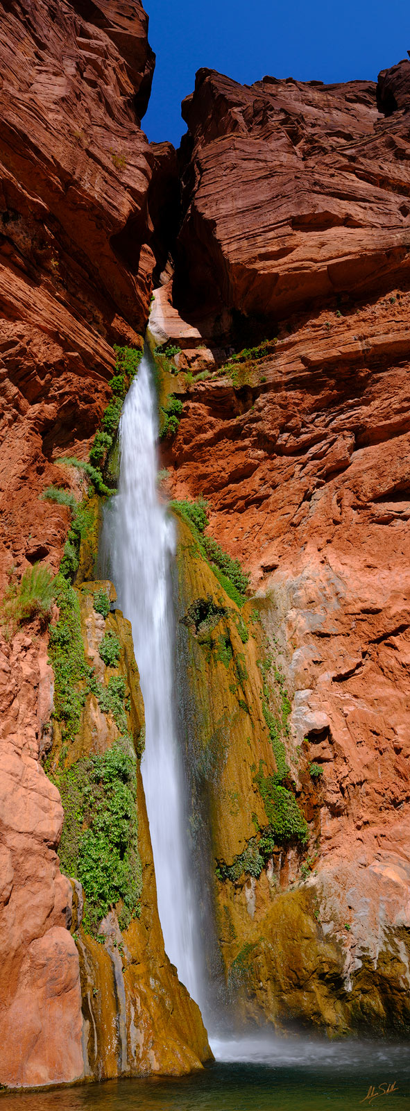 AZ, Arizona, Below the Rim, Deer Creek, Deer Creek Falls, Expedition, FujiFilm, GFX, GFX 100, Grand Canyon, National Park, Pano, Panorama, Panoramic, River Trip, Waterfall, photo