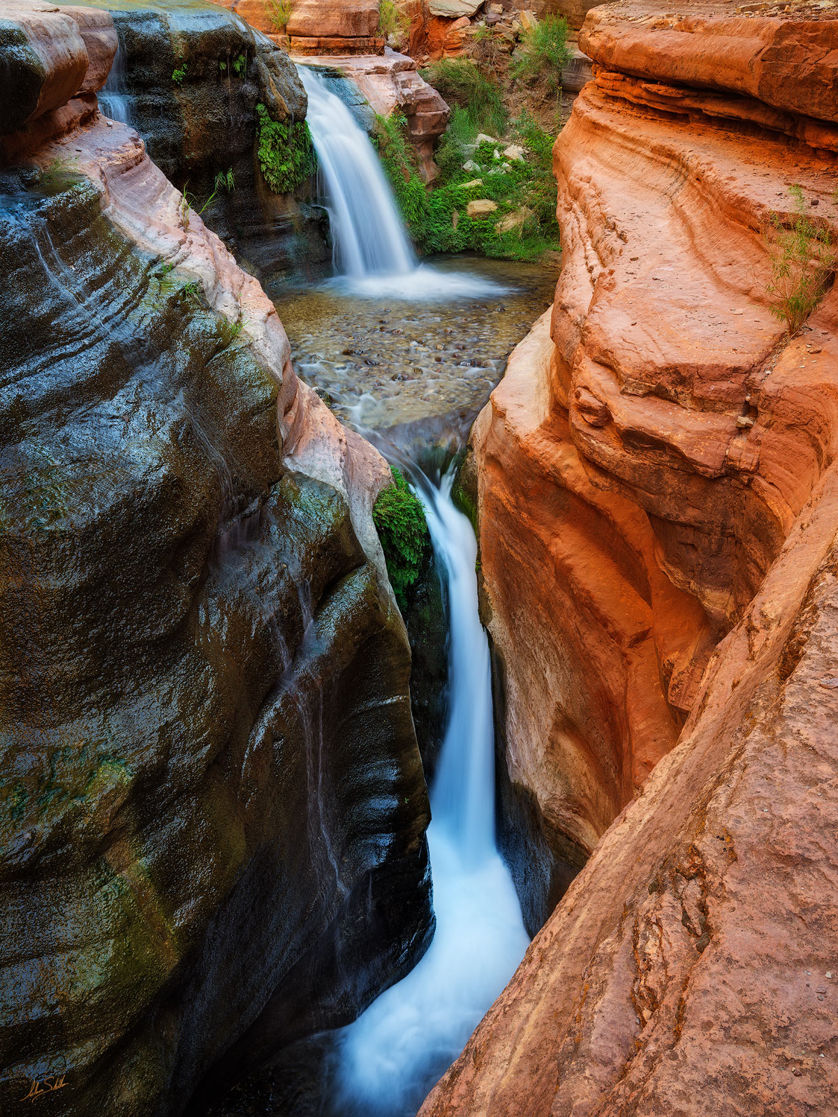 Deer Creek, Expedition, FujiFilm, GFX, GFX 100, Grand Canyon, Narrows, National Park, River Trip, The Patio, Waterfall, photo