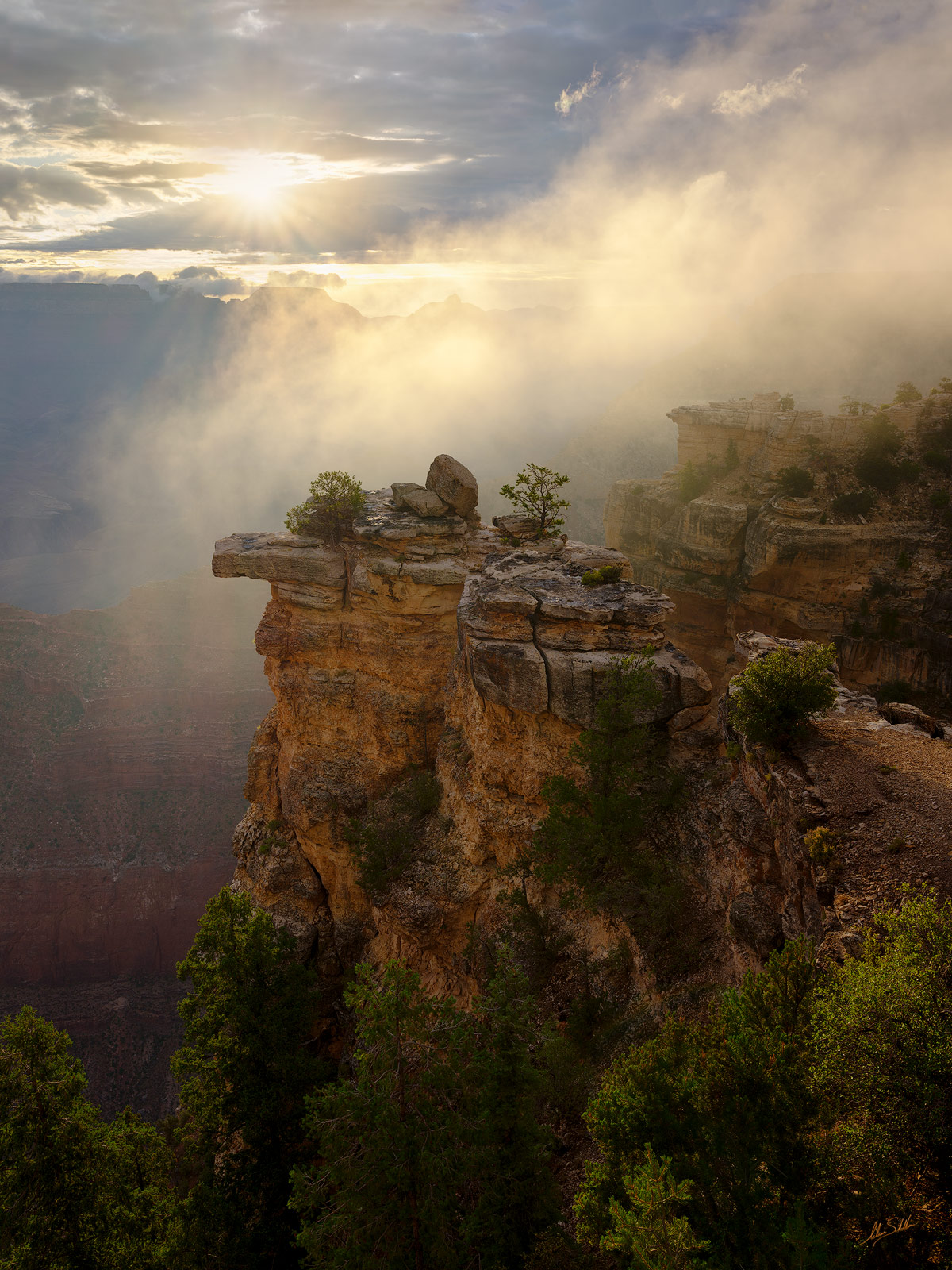 AZ, Arizona, Grand Canyon, Mather Point, National Park, South Rim, photo