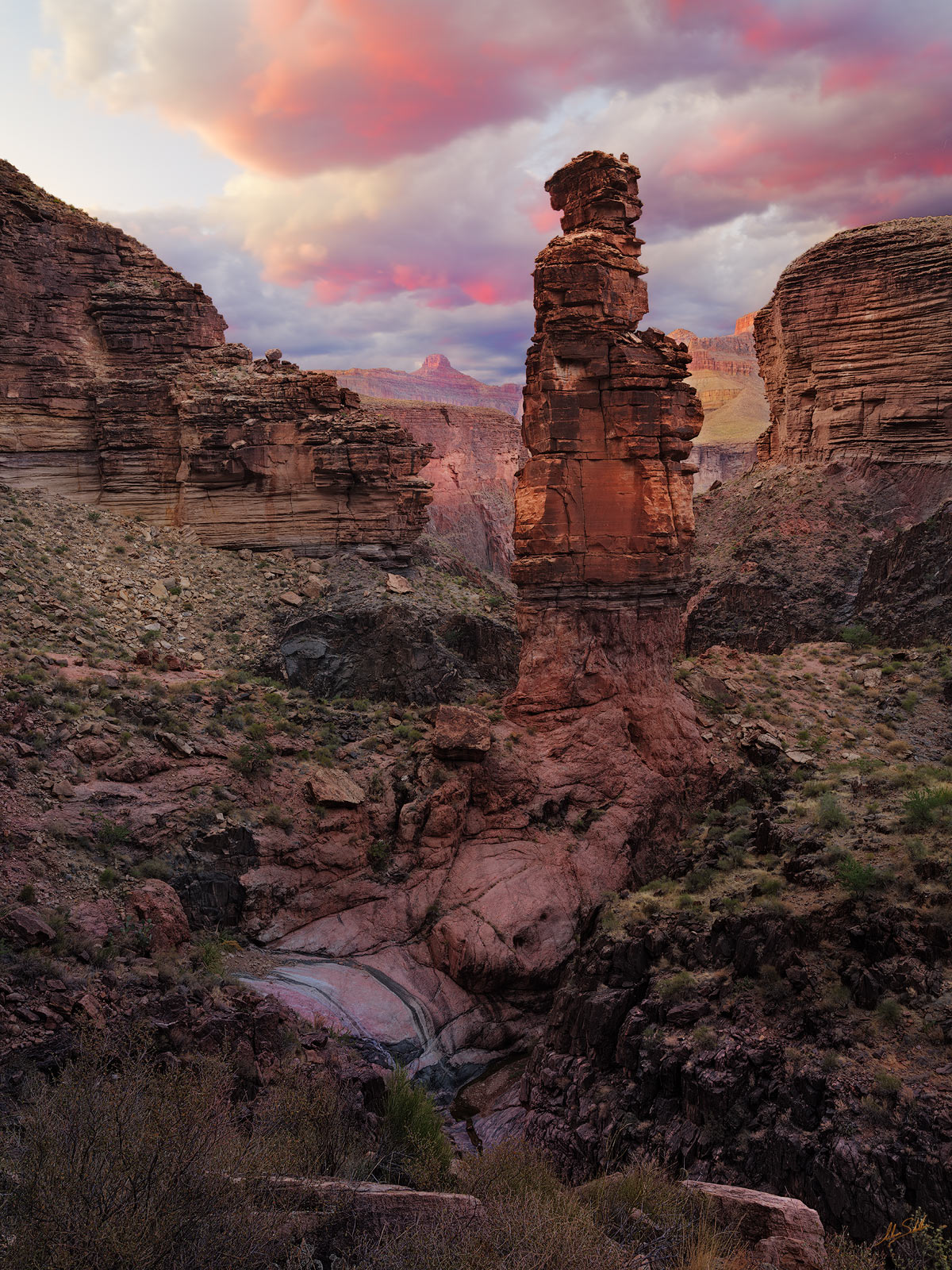 Expedition, FujiFilm, GFX, GFX 100, Grand Canyon, Hoodoo, Monument Creek, National Park, River Trip, Sunset, photo
