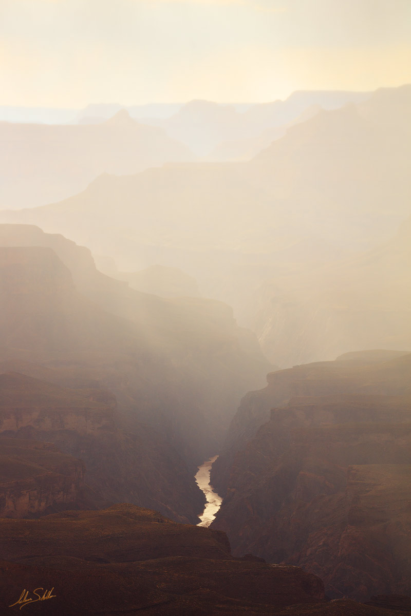 Arizona, Grand Canyon, Monsoon, National Park, Zuni Point, Sunset, South Rim, Rain, Colorado River, photo