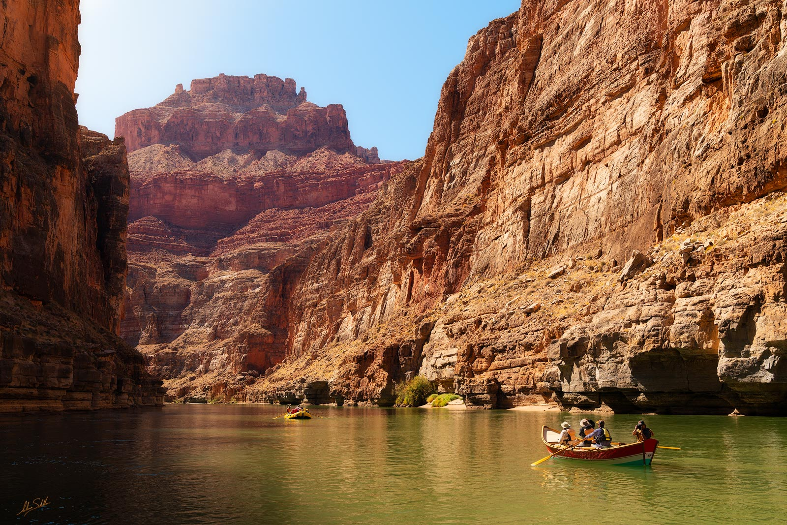 Below the Rim; Boat; Colorado River; Dory; Expedition; Grand Canyon; Marble Canyon; National Park; Rafting; Rafting the Colorado River; Rafting the Grand Canyon; River Trip, photo