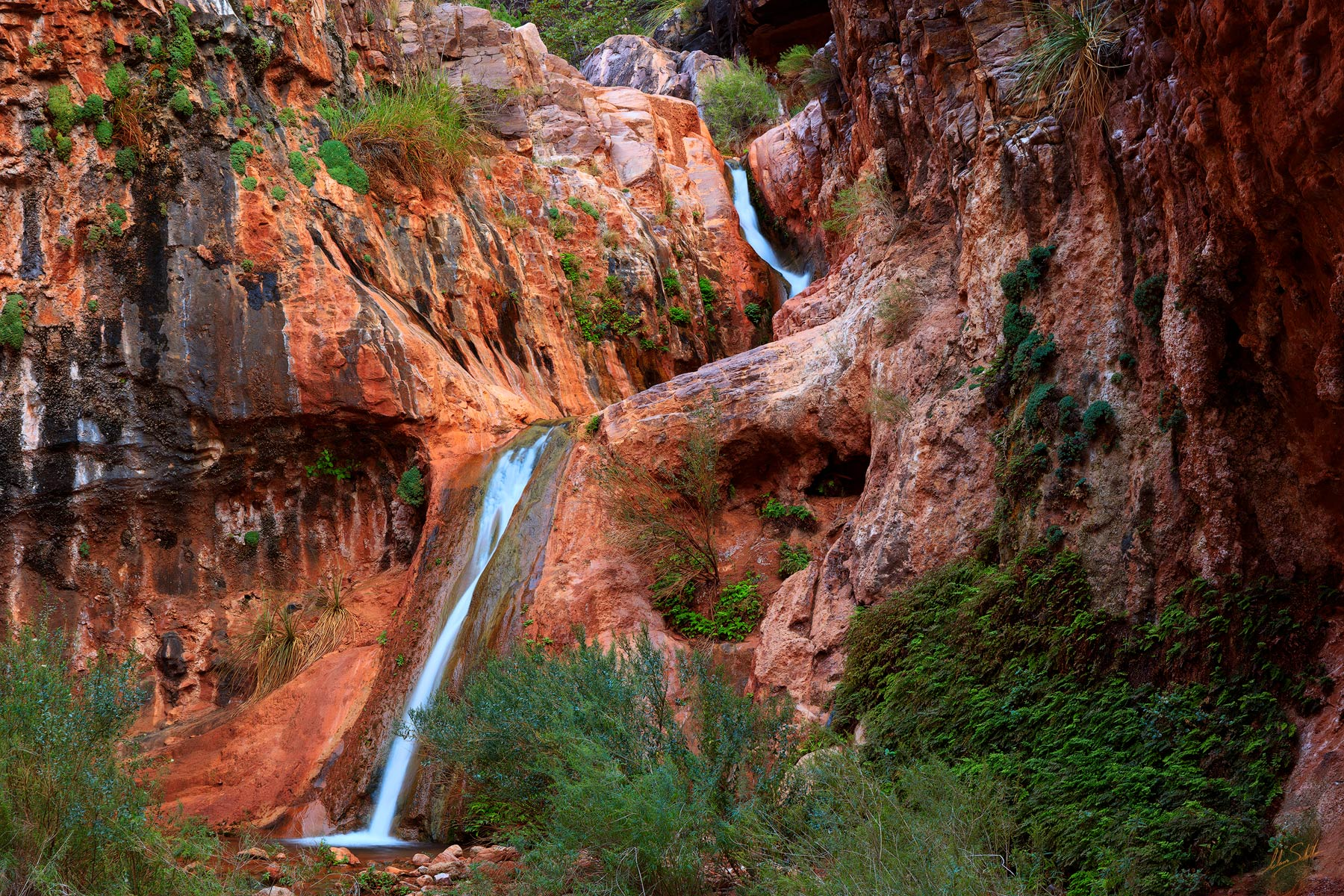 Arizona, Below the Rim, Colorado River, Grand Canyon, Grand Canyon National Park, Grotto, National Park, River Trip, Stone Creek, Water, Waterfall, photo