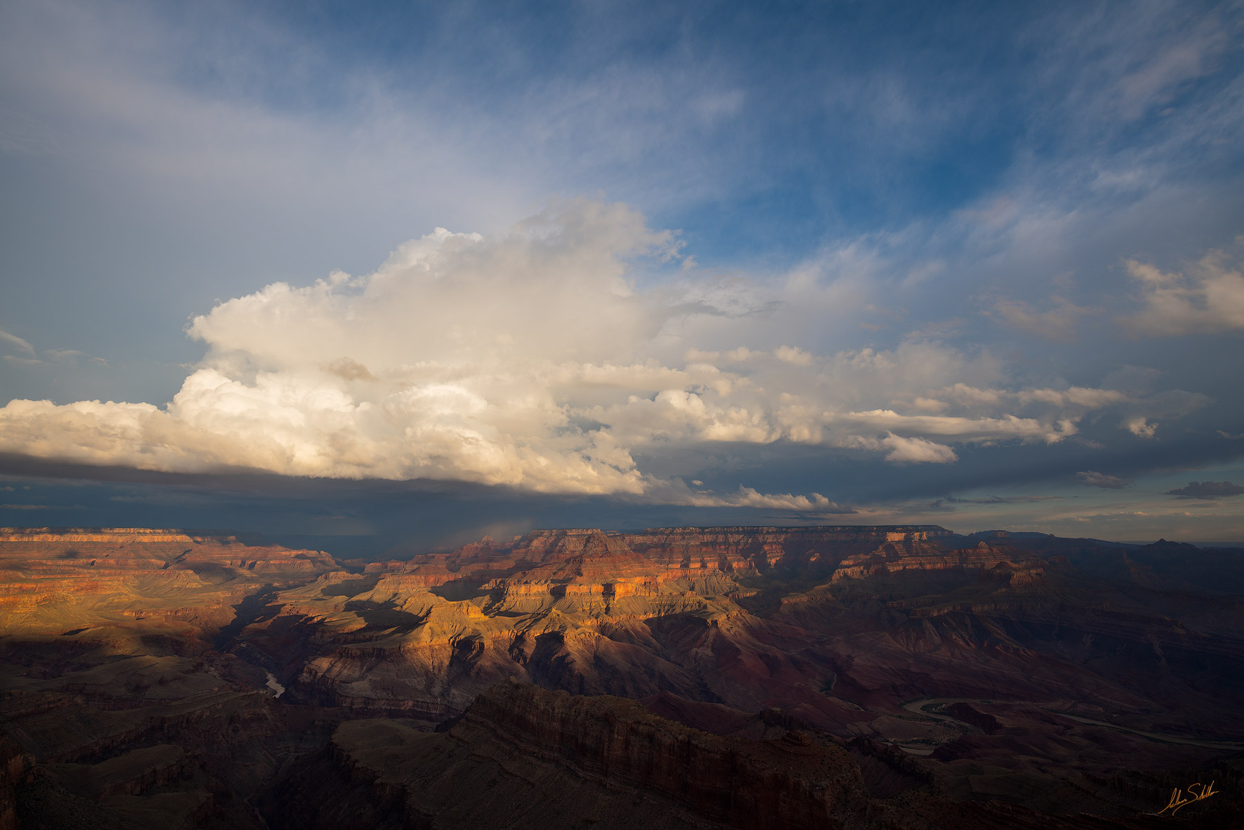 Colorado River, Grand Canyon, Lipan Point, Monsoon, National Park, South Rim, Storms, Thunder, photo