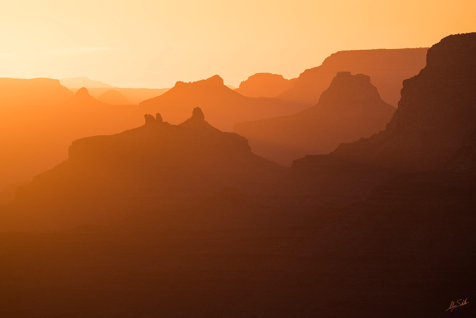 Angels Gate, Desert View, Grand Canyon, Isis Temple, National Park, South Rim, Sunset, photo