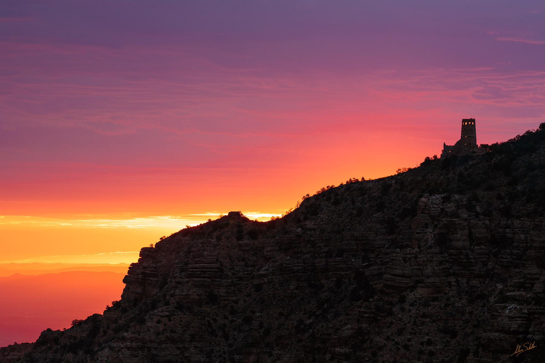 Desert View, Grand Canyon, National Park, Painted Desert, South Rim, Sunrise, Watchtower, photo