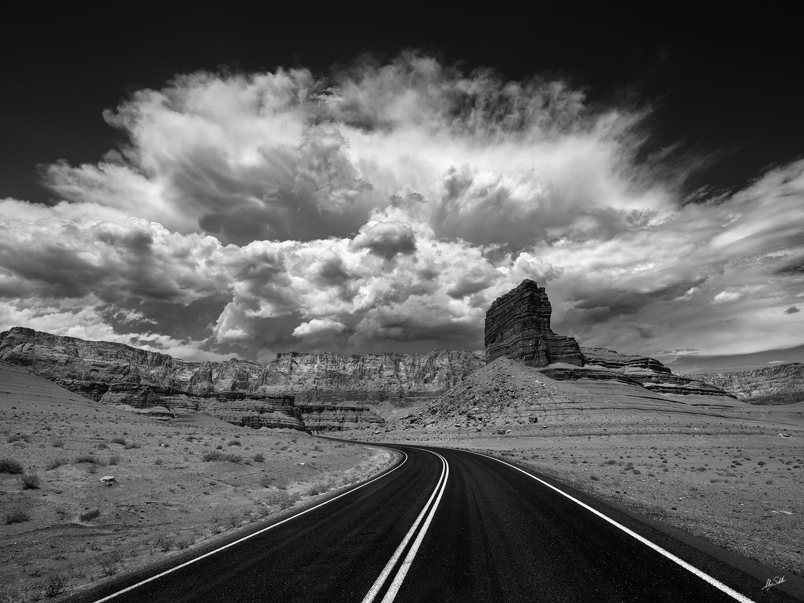 AZ, Arizona, Cathedral Rock, Clouds, Monsoon, Storm, Thunderstorm, Vermilion Cliffs, lees ferry, photo