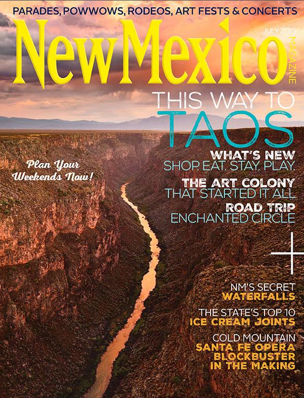 New Mexico, Magazine, Taos, July, 2015, Rio Grande, Gorge, River, photo