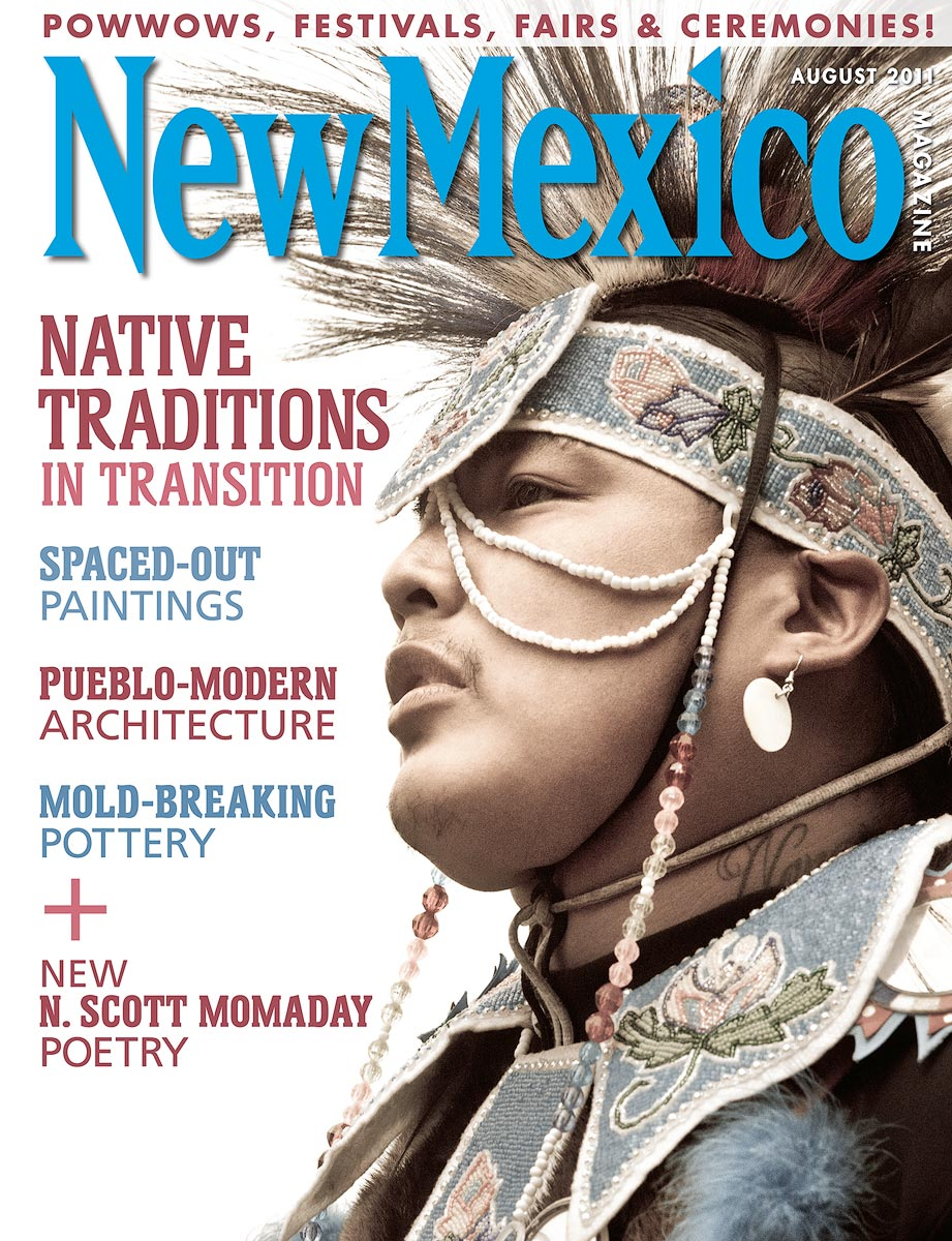 New Mexico, Magazine, Cover, Pow Wow, Native american, photo