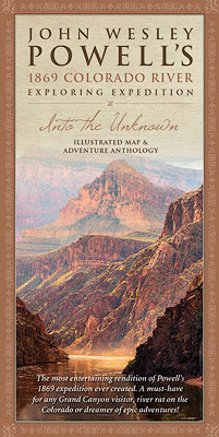 Powell, Expedition, Map, 1869, Historic, Grand Canyon, Colorado River, John Wesley Powell, Explorer, photo
