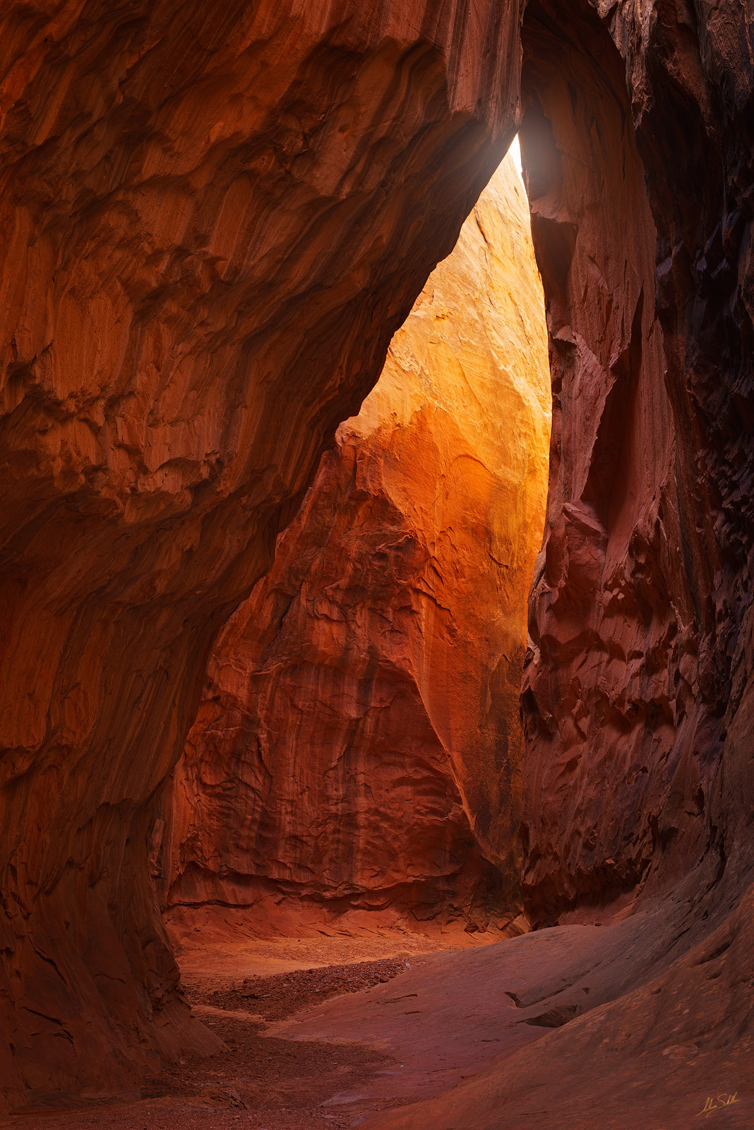 Leprechaun Canyon, North Wash, Slot Canyon, UT, Utah, narrows, Teardrop, photo