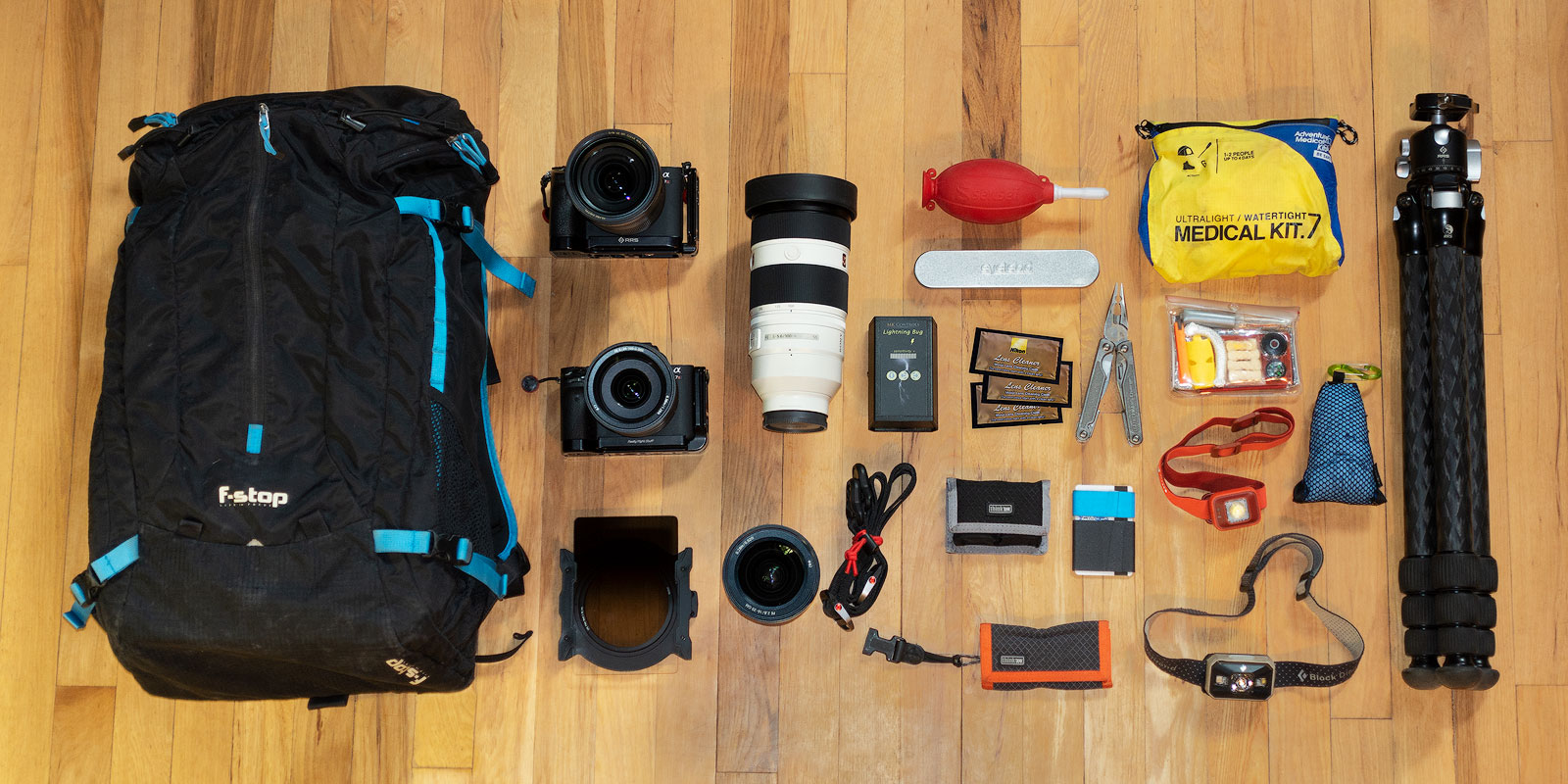 What's In Adam's Camera Bag? | Adam Schallau, American
